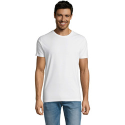 textil Herr T-shirts Sols Martin camiseta de hombre Blanco
