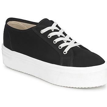 Skor Dam Sneakers Yurban SUPERTELA Svart