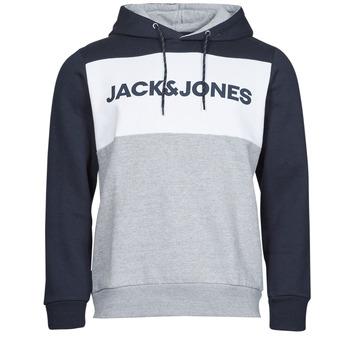 textil Herr Sweatshirts Jack & Jones JJELOGO Marin