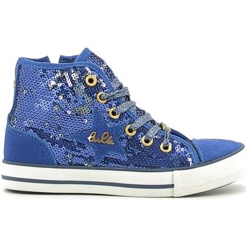 Skor Flickor Höga sneakers Lulu LV010070T Blå