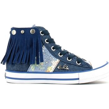 Skor Flickor Höga sneakers Lulu LV010060T Blå