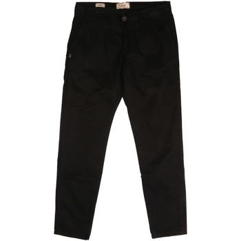 textil Herr Chinos / Carrot jeans Gaudi 721BU25006 Svart
