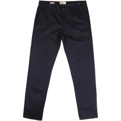 textil Herr Chinos / Carrot jeans Gaudi 721BU25006 Blå