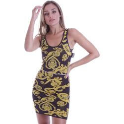 textil Dam Korta klänningar Versace B4HVB81050414KA9 Svart