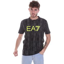 textil Herr T-shirts Ea7 Emporio Armani 6HPT04 PJB1Z Svart