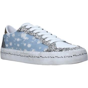 Skor Dam Sneakers Manila Grace S642DU Blå