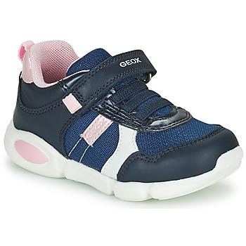 Skor Pojkar Sneakers Geox B PILLOW Blå