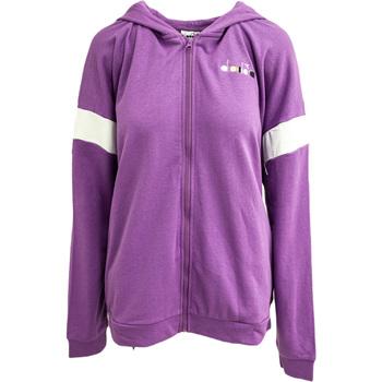 textil Dam Sweatshirts Diadora Fz Spotlight Lila
