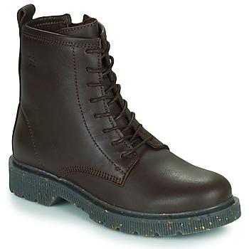 Skor Dam Boots Dream in Green PARBOL Brun