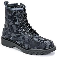 Skor Dam Boots Fericelli PARMA Marin