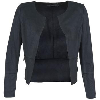 textil Dam Skinnjackor & Jackor i fuskläder Only KIM Marin