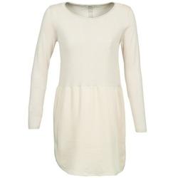 textil Dam Korta klänningar Only DANCER Benvit