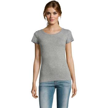 textil Dam T-shirts Sols Mixed Women camiseta mujer Gris