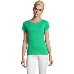 textil Dam T-shirts Sols Mixed Women camiseta mujer Verde