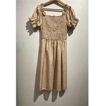 textil Dam Korta klänningar Fashion brands 53176-BEIGE Beige