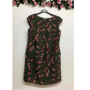 textil Dam Korta klänningar Fashion brands CERISIER-1533-KAKI Kaki