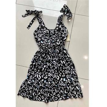 textil Dam Korta klänningar Fashion brands 5165-NOIR Svart
