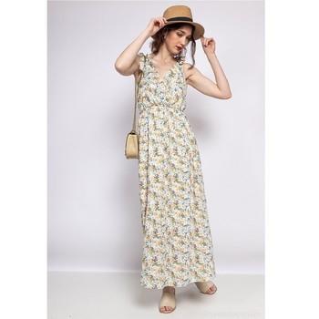 textil Dam Korta klänningar Fashion brands R182-BEIGE Beige
