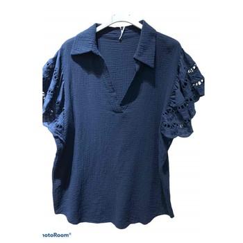textil Dam Blusar Fashion brands 310311-NAVY Marin