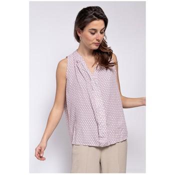 textil Dam Blusar Fashion brands TP25-PINK Rosa
