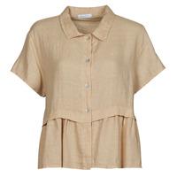 textil Dam Blusar Fashion brands 10998-BEIGE Beige