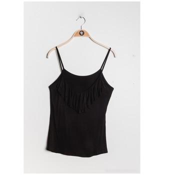 textil Dam Blusar Fashion brands D852-BLACK Svart