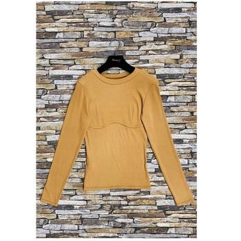 textil Dam Blusar Fashion brands HD-2813-N-BROWN Brun