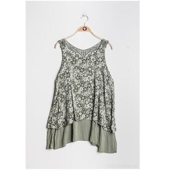 textil Dam Blusar Fashion brands 9673-KAKI Kaki