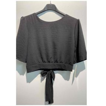 textil Dam Blusar Fashion brands 5172-BLACK Svart