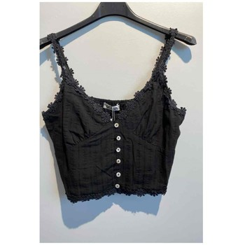 textil Dam Blusar Fashion brands 6133-BLACK Svart