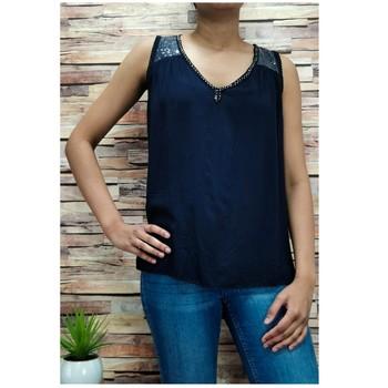 textil Dam Blusar Fashion brands 2940-BLACK Svart