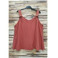 textil Dam Blusar Fashion brands 3841-RASPBERRY Rosa