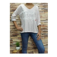 textil Dam Blusar Fashion brands 21052-PINK Rosa