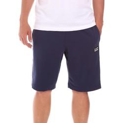 textil Herr Shorts / Bermudas Ea7 Emporio Armani 3KPS81 PJ05Z Blå