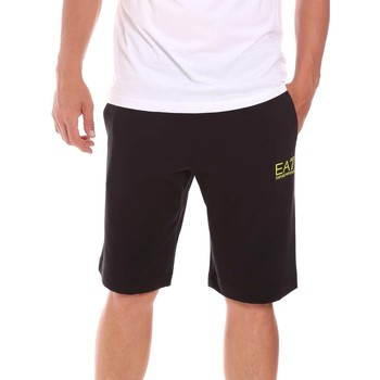 textil Herr Shorts / Bermudas Ea7 Emporio Armani 3KPS59 PJ05Z Svart