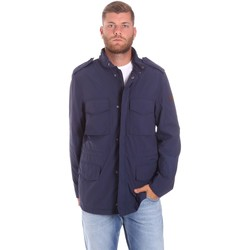 textil Herr Parkas Lumberjack CM68821 002EU Blå