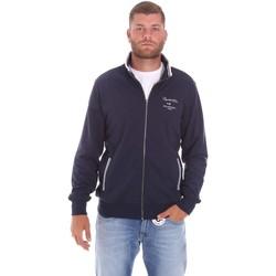 textil Herr Sweatshirts Key Up 2F451 0001 Blå