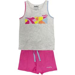 textil Barn Sportoverall Diadora 102175900 Grå