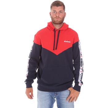 textil Herr Sweatshirts Diadora 502176092 Röd