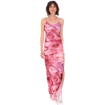 textil Dam Långklänningar Me Fui M20-0958X1 Rosa