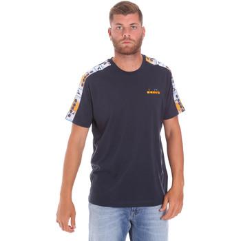textil Herr T-shirts Diadora 502176085 Blå