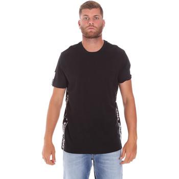 textil Herr T-shirts Diadora 502176631 Svart