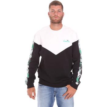 textil Herr Sweatshirts Diadora 502176091 Svart