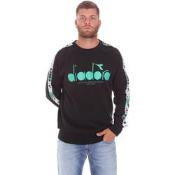 textil Herr Sweatshirts Diadora 502175376 Svart