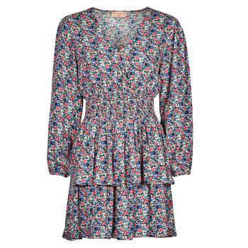 textil Dam Korta klänningar Moony Mood PAPIS Rosa