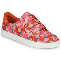 Skor Dam Sneakers Cosmo Paris HAJIA Rosa / Blommig