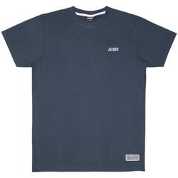 textil Herr T-shirts Jacker Classic logo Blå