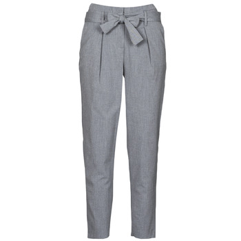 textil Dam Chinos / Carrot jeans Only ONLNICOLE Grå