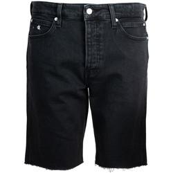 textil Herr Shorts / Bermudas Calvin Klein Jeans  Svart