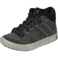 Skor Pojkar Höga sneakers California Xboys BH483 Grön